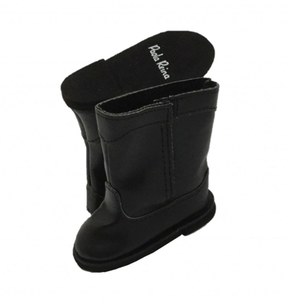 Paola Reina poppen Paola Reina black boots for Amigas dolls