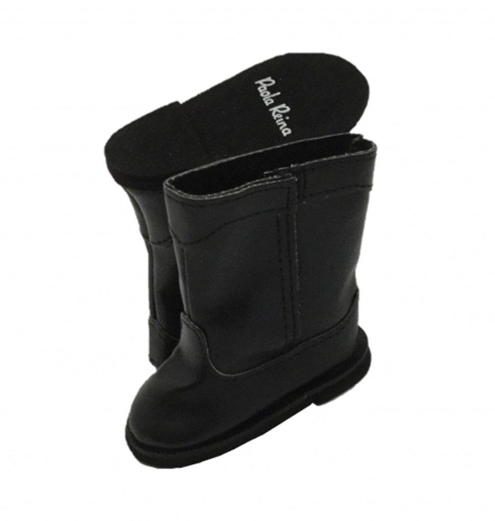 Paola Reina poppen Paola Reina zwarte laarzen voor Amigas poppen