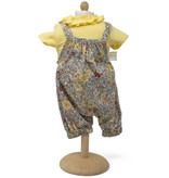 By Astrup / Mini Mommy  Mini Mommy doll clothes jumpsuit pastel flowers