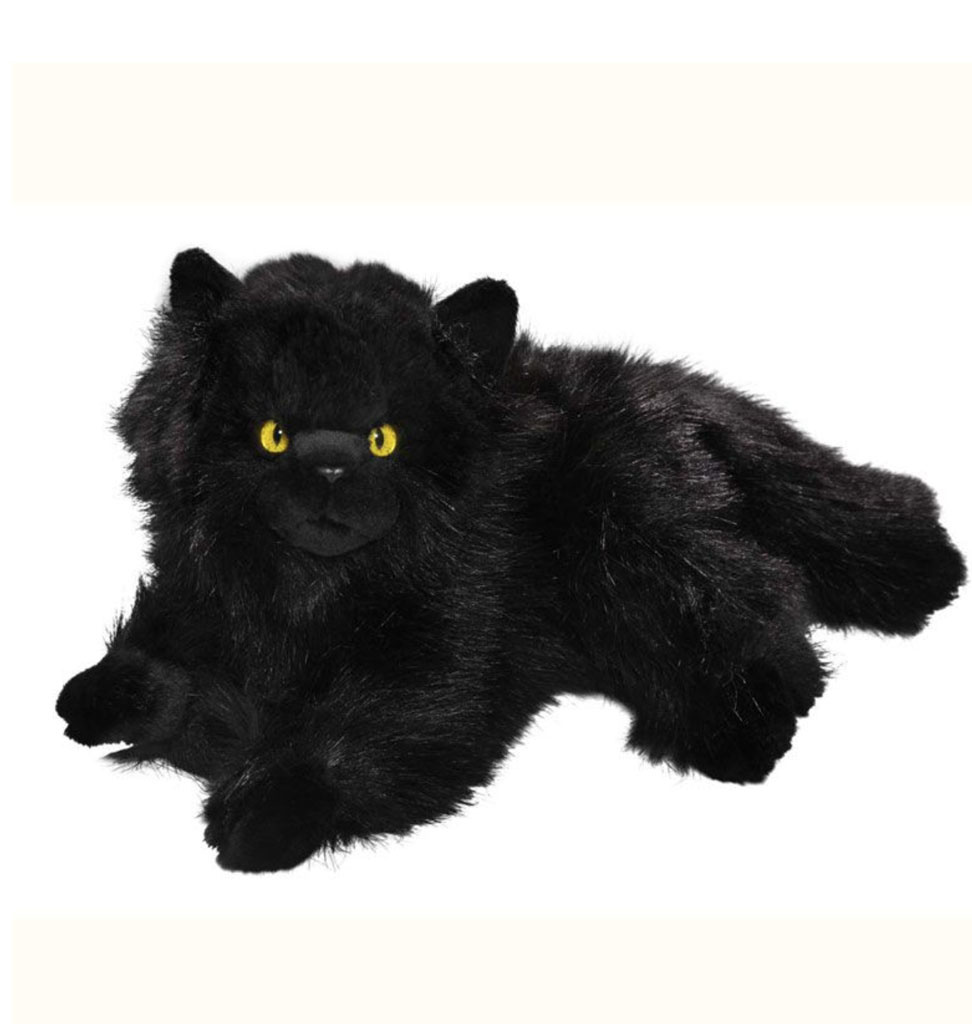BIColini black Persian cat 30 cm