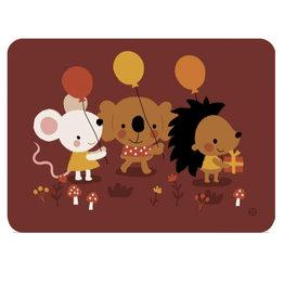 By-Bora Bora card animal party