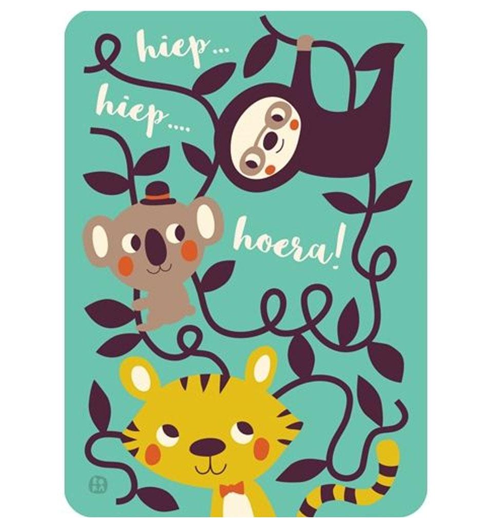 By-Bora By- Bora kaart verjaardag!