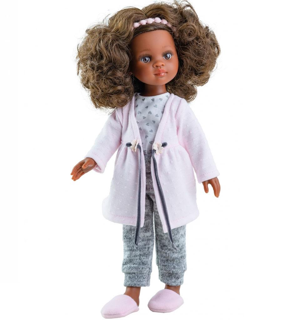 Paola Reina poppen Paola Reina Amigas Puppe Nora mit Pyjama
