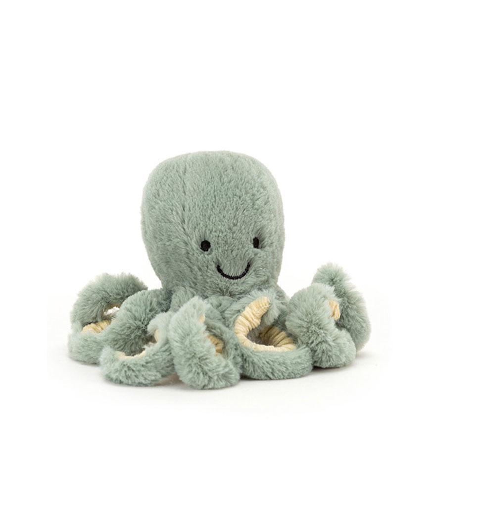 Jellycat knuffels Jellycat Baby Odyssey octopus 14 cm
