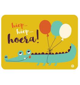By-Bora By-Bora card Hip Hip Hooray