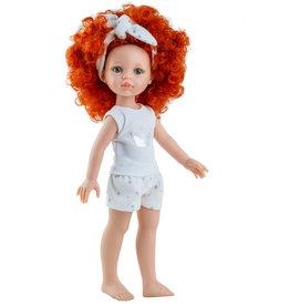 Paola Reina poppen Paola Reina Amigas doll Carolina with pajamas