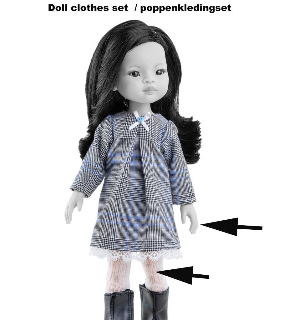 Paola Reina poppen Paola Reina Kleidungsset 'Liu' für Amigas Puppen