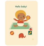 By-Bora By- Bora kaartje Hello Baby!