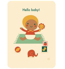 By-Bora By-Bora-Karte Hallo Baby-Spielzeit
