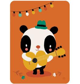 By-Bora By-Bora card panda songwriter
