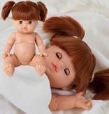 Minikane  Minikane Gordi pop Gabrielle met slaapogen 34 cm
