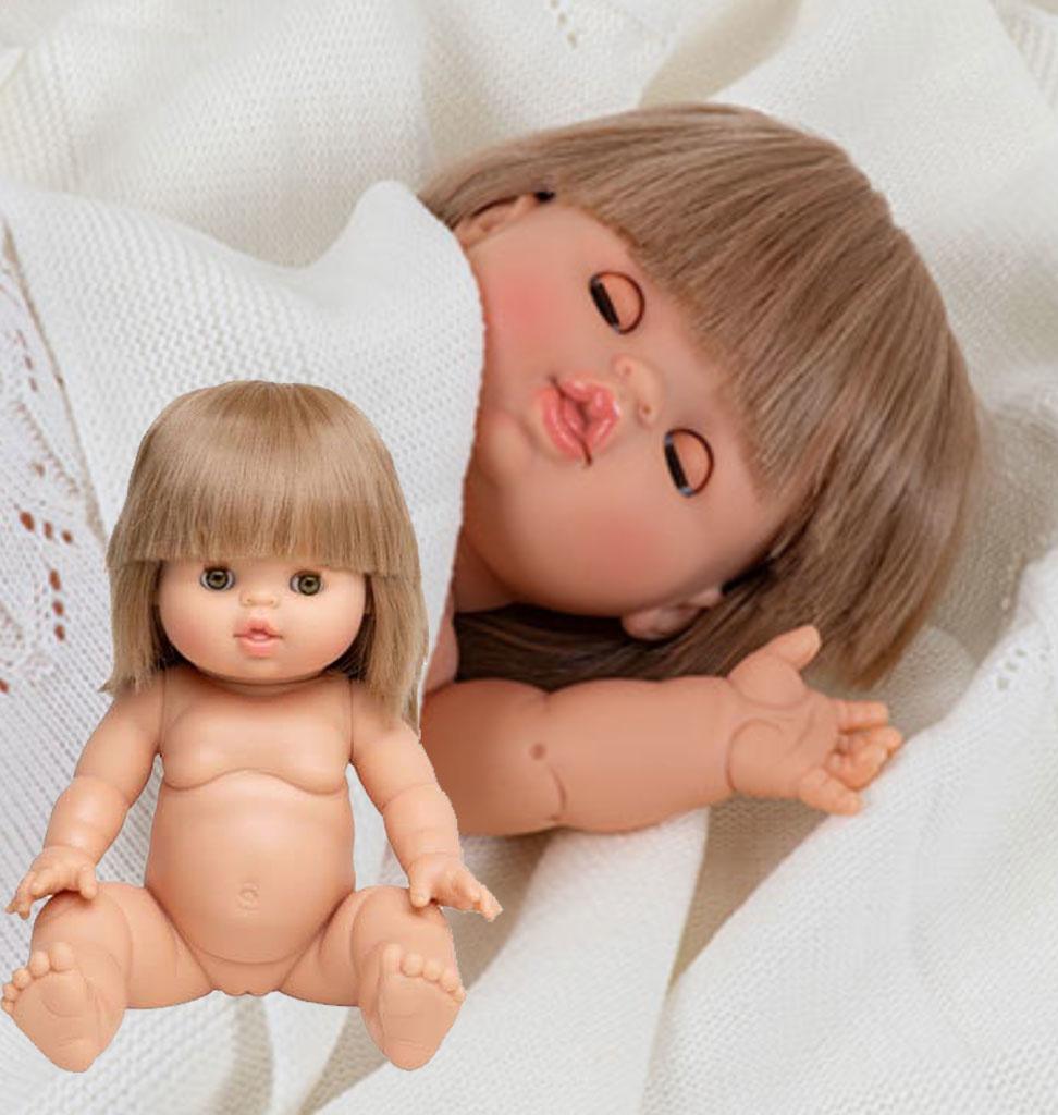 Minikane  Minikane Gordi pop Zoé met slaapogen  34 cm