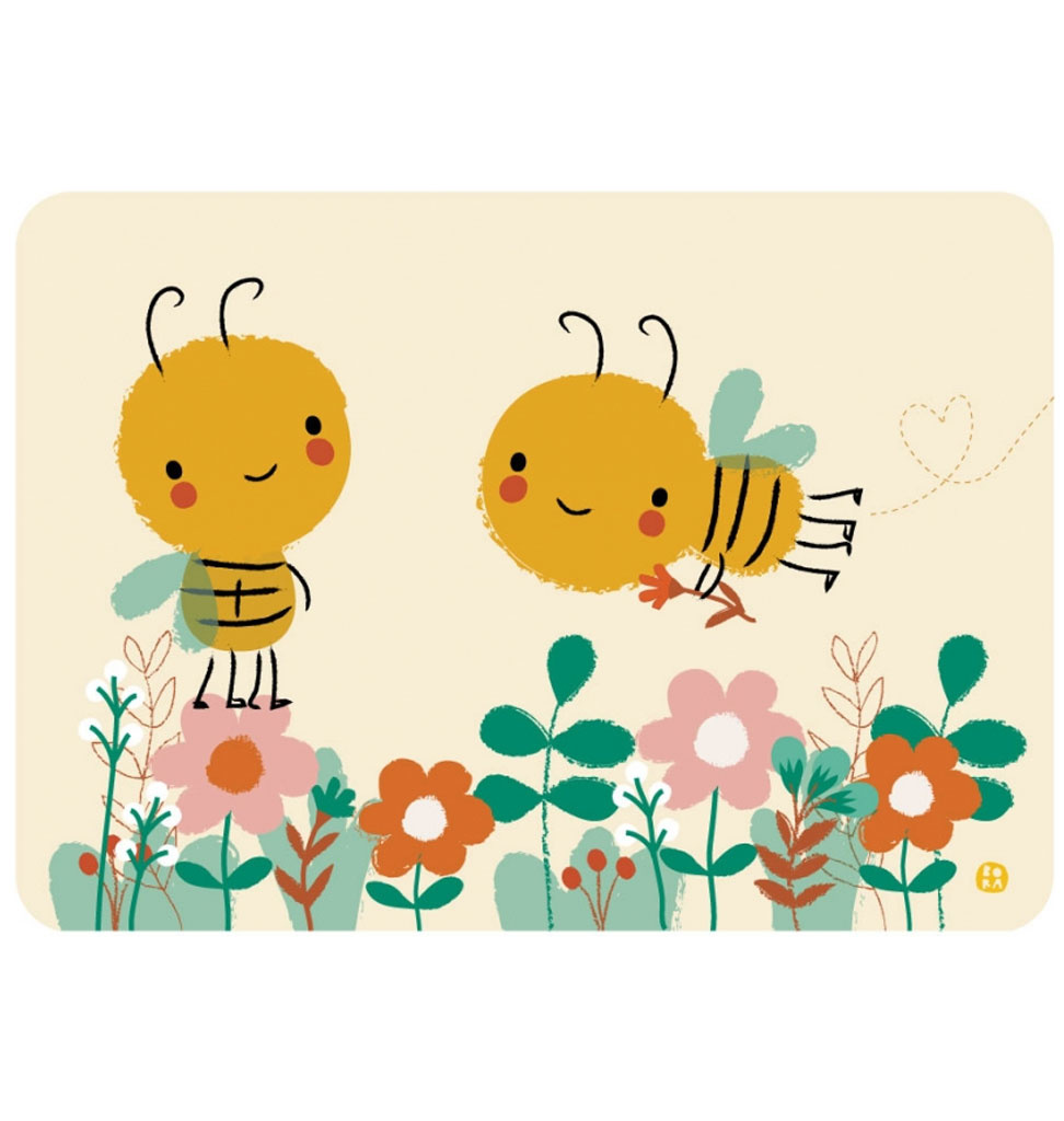 By-Bora By- Bora card Save the bees