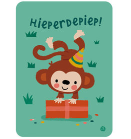 By-Bora By-Bora card monkey