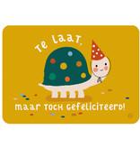 By-Bora By- Bora kaart schildpad