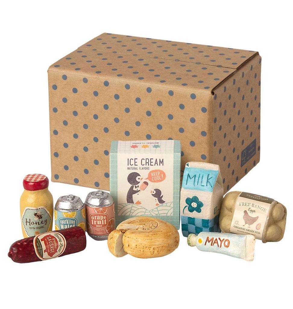 Maileg Maileg miniature grocery box