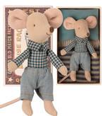 Maileg Maileg Little Brother Maus in Streichholzschachtel