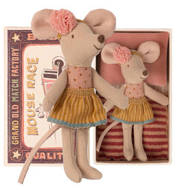 Maileg Maileg little sister mouse in matchbox