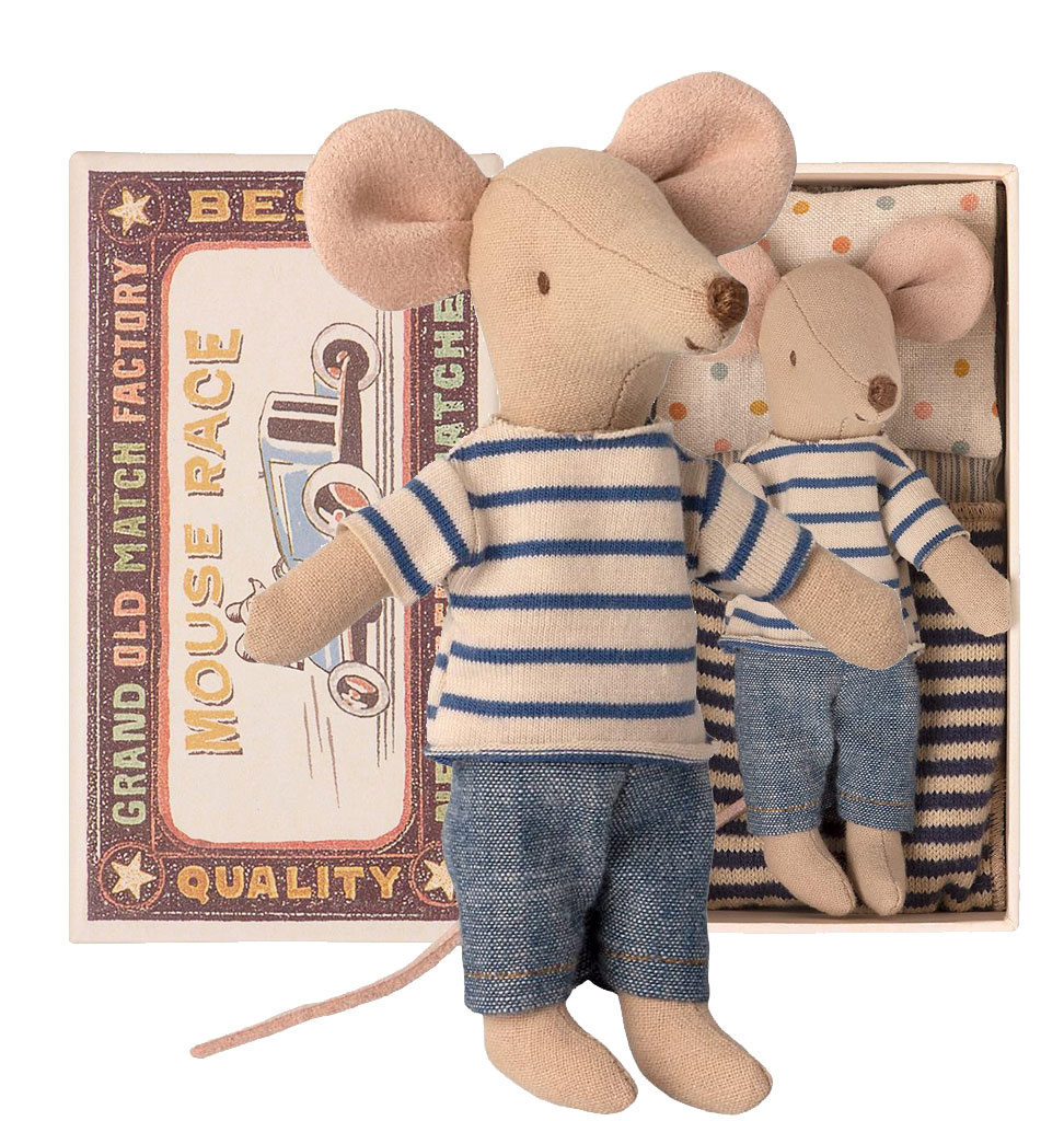 Maileg Maileg Big Brother mouse in matchbox