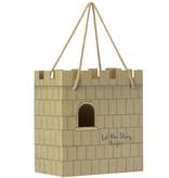 Maileg Maileg Karton Burg Tasche Lassen Sie die Geschichte beginnen