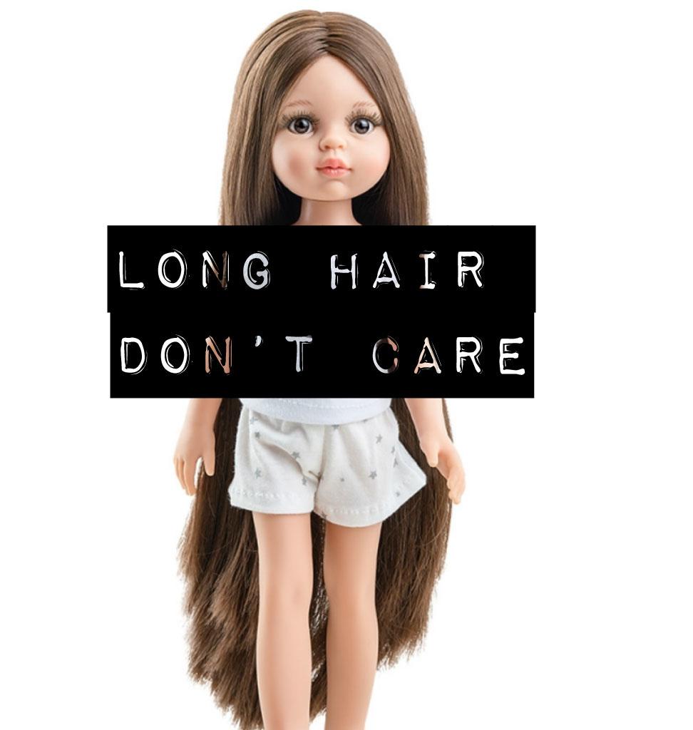 Paola Reina poppen Paola Reina Amigas doll Carol with super long hair