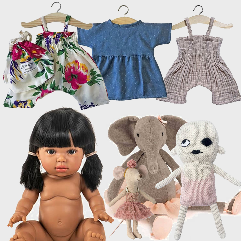 Minikane  Minikane Gordi doll Latika 34 cm