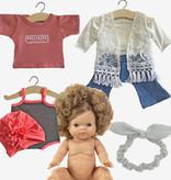 Minikane  Minikane / Paola Reina Gordi Puppe Anaïs 34 cm