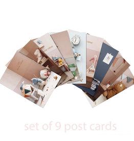 Maileg Maileg set van negen kaarten