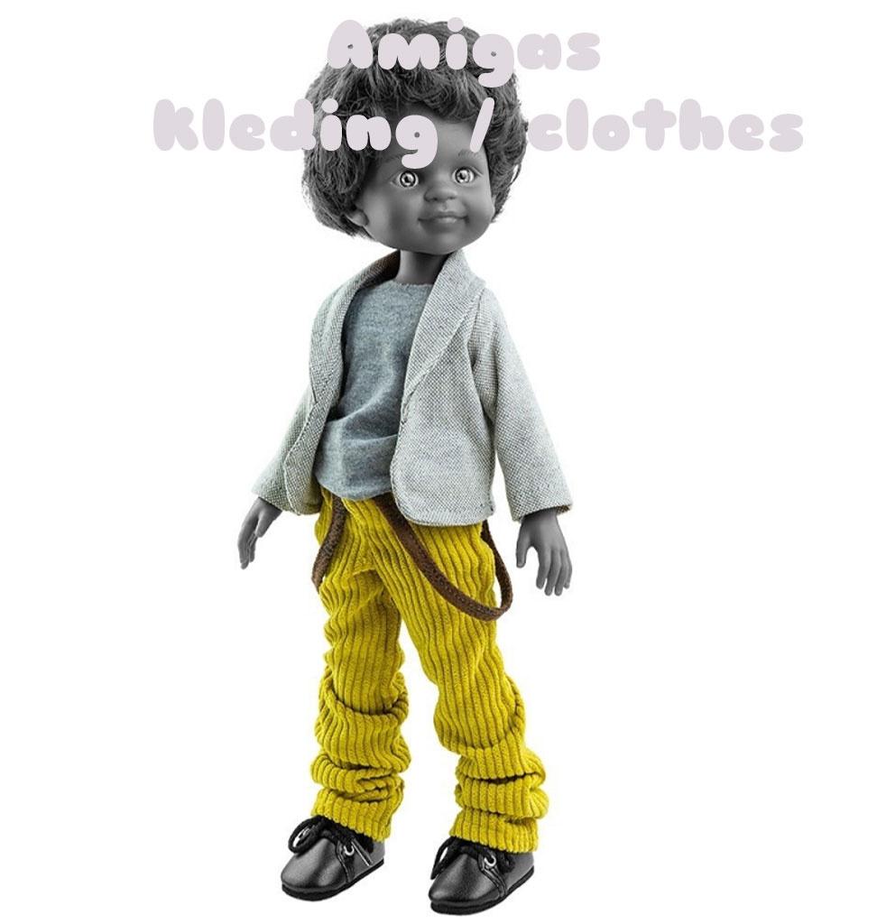 Paola Reina poppen Kleidungsset für die Amigas-Puppen von Paola Reina