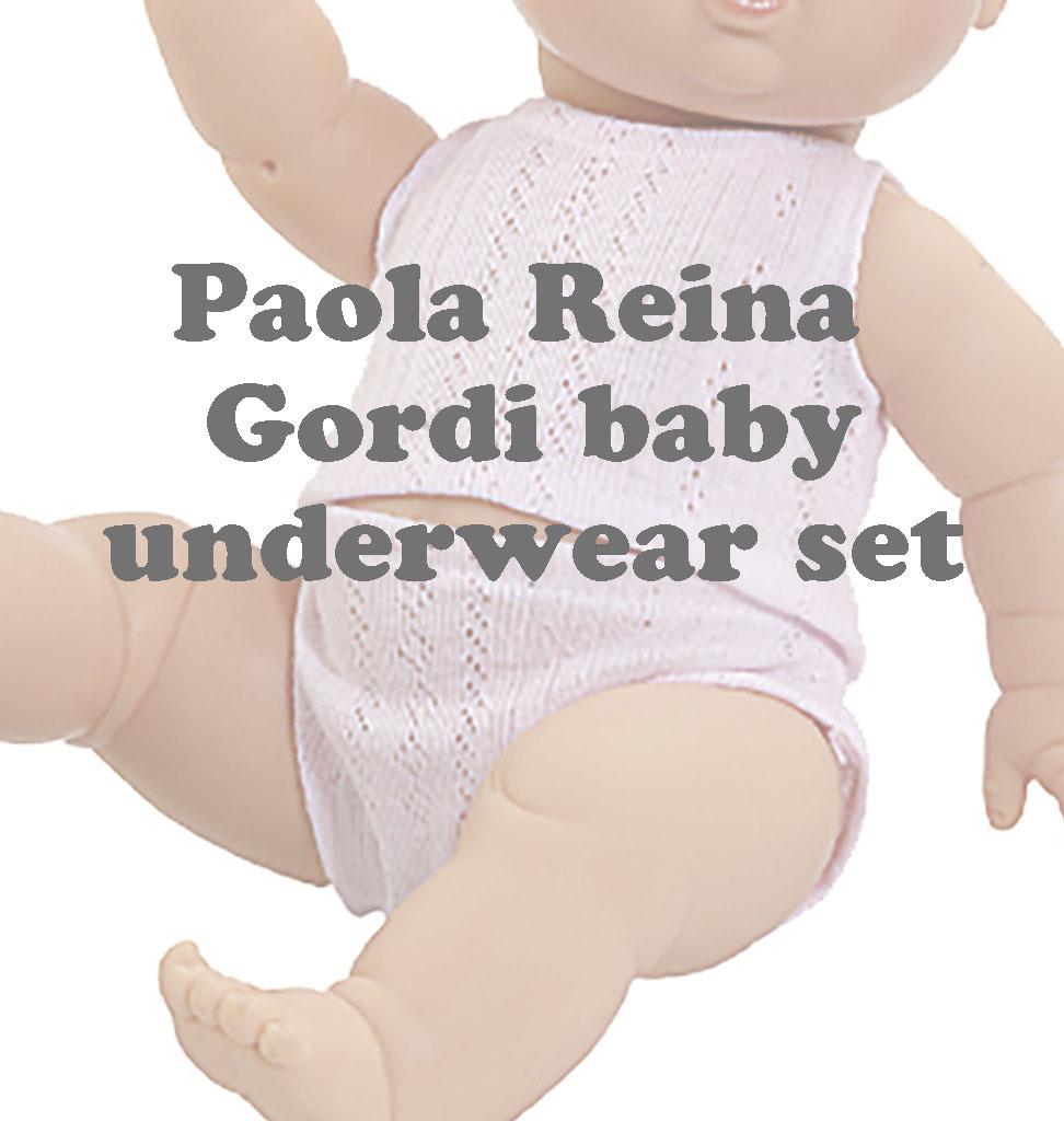Paola Reina poppen Paola Reina ondergoed voor de Peque poppen
