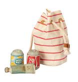 Maileg Maileg beach bag with sunscreen and soda