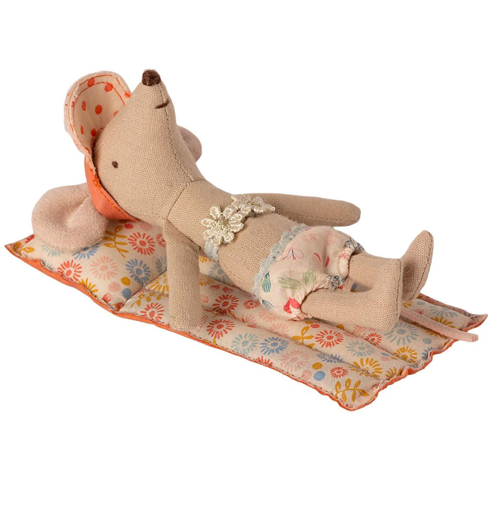 Maileg Maileg air mattress with floral print for the Maileg mice