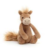 Jellycat knuffels Jellycat Bashful pony small 18 cm