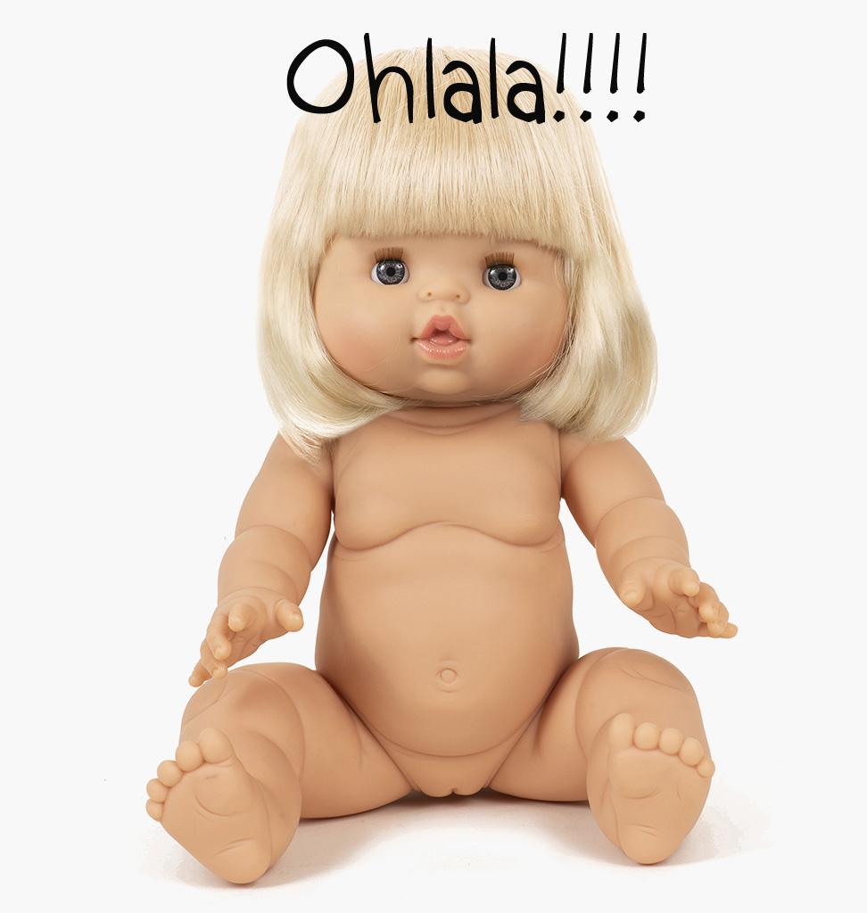 Minikane  Minikane / Paola Reina Gordi Puppe Angèle 34 cm