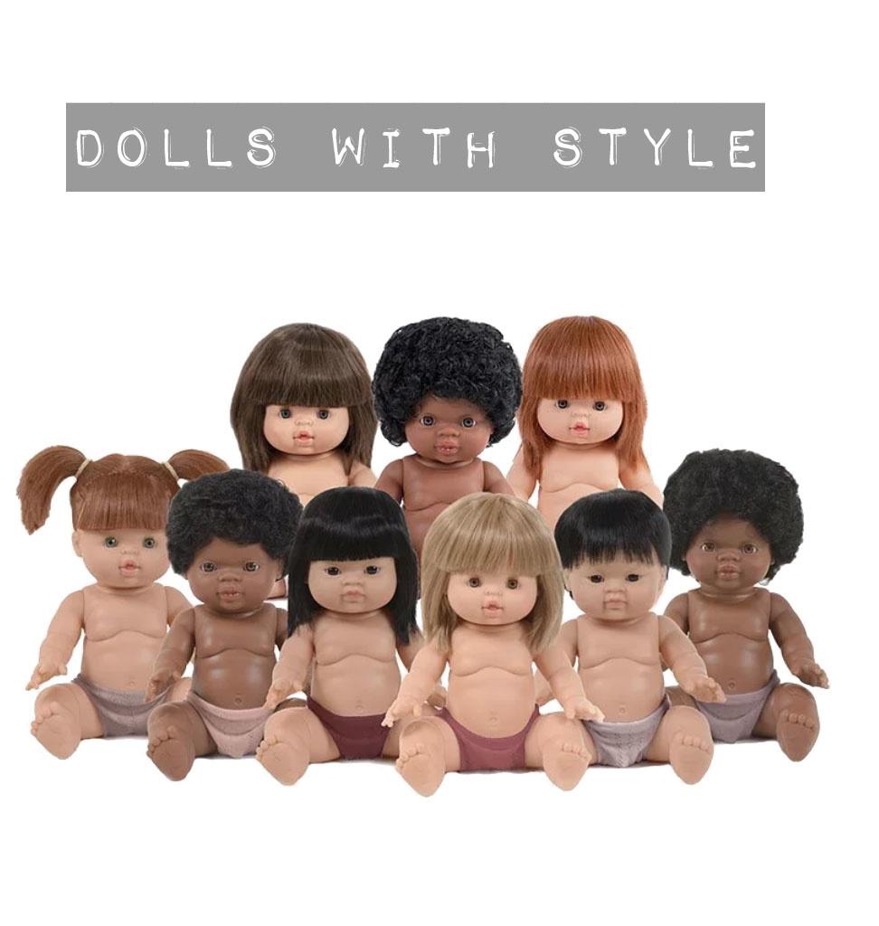 Minikane  Minikane Gordi Puppe Yzé 34 cm