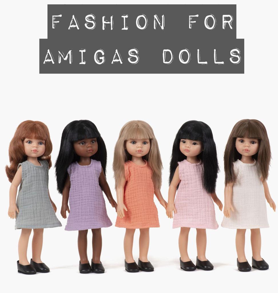 Paola Reina poppen Paola Reina Kleidungsset für Amigas Puppen / Inma