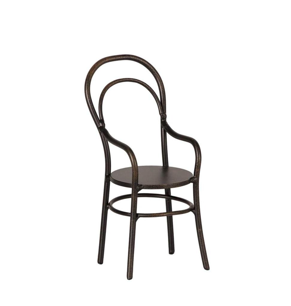 Maileg Maileg Stuhl mit Rückenlehne 13 cm hoch