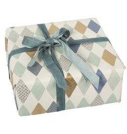Maileg Wrapping paper Harlekin blue Maileg