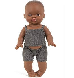 Minikane  Minikane underwear set petits basiques anthracite for Gordi dolls