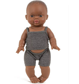 Minikane  Minikane Unterwäsche Set Petits Basiques Anthrazit für Gordi Puppen
