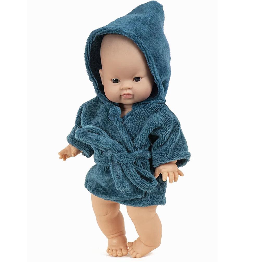 Minikane  Minikane peignoir und tissu éponge Paon für Gordi-Puppen