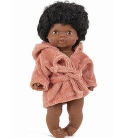 Minikane  Minikane bathrobe marsala for Gordi dolls
