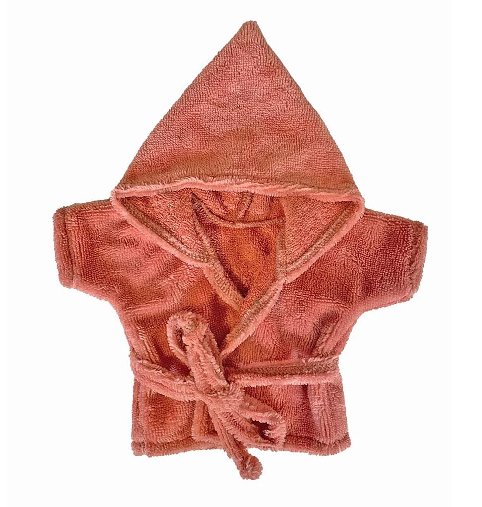 Minikane  Minikane Peignoir und Tissue éponge Marsala für Gordi-Puppen