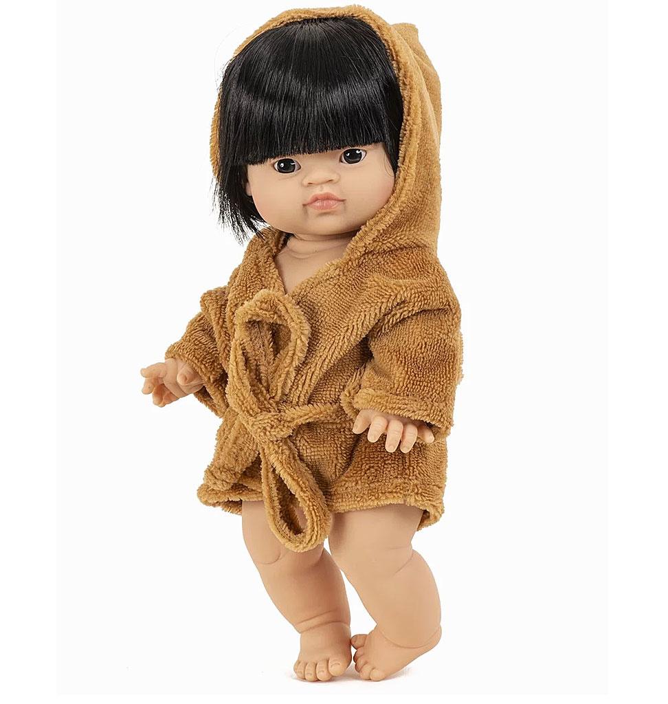 Minikane  Minikane Peignoir und Tissue éponge Camel für Gordi-Puppen