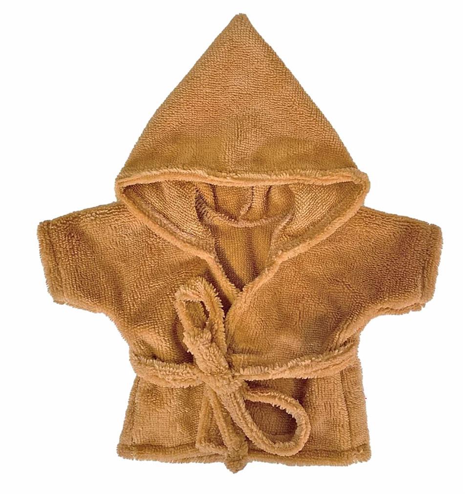 Minikane  Minikane peignoir and tissu éponge Camel for Gordi dolls