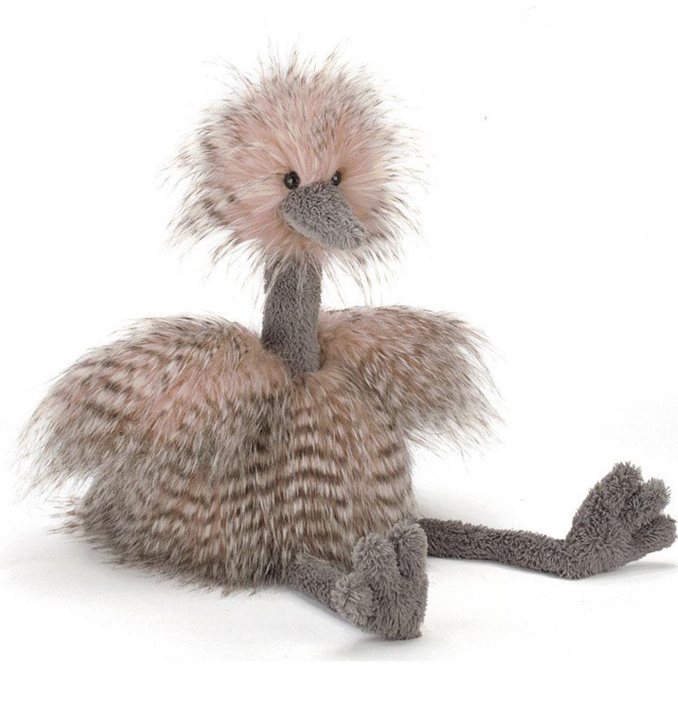 Jellycat knuffels Jellycat Odette ostrich 49 cm
