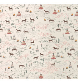 Maileg Maileg wrapping paper chevaux heureux