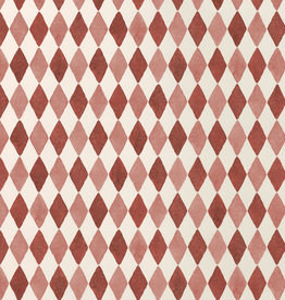 Maileg Maileg wrapping paper Harlequin red