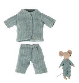Maileg Maileg Kleidungsset Pyjama für Big Brother Maus