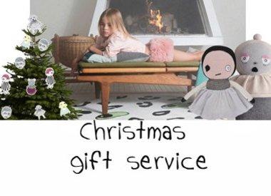 Weihnachtsgeschenke Service